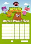 Personalised Moshi Monsters Reward Chart (adding photo option available)